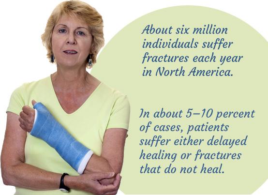 Healing from broken bones