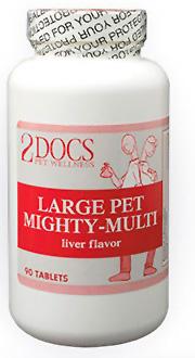2docs large pet mighty multi multivitamin
