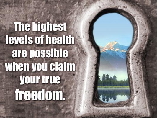 Highest Health - choosing self responsibility