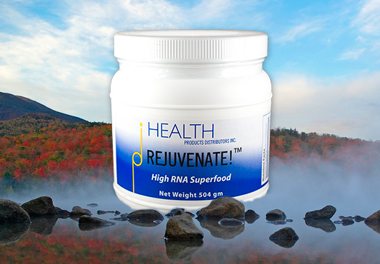 Rejuvenate high-RNA Superfood dietary nucleic acids fred liers