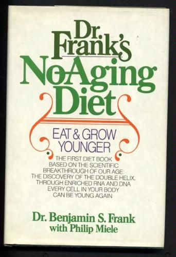 Dr. Frank's No-Aging Diet RNA Rejuvenate