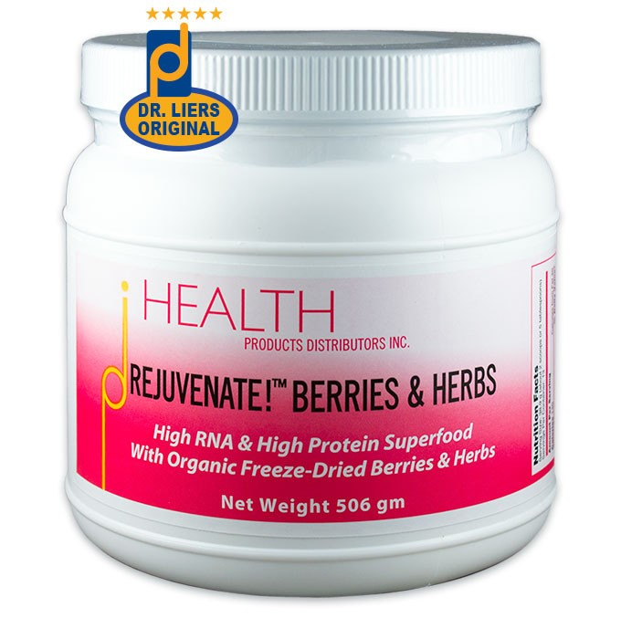 Fred Liers Rejuvenate Berries Herbs superfood