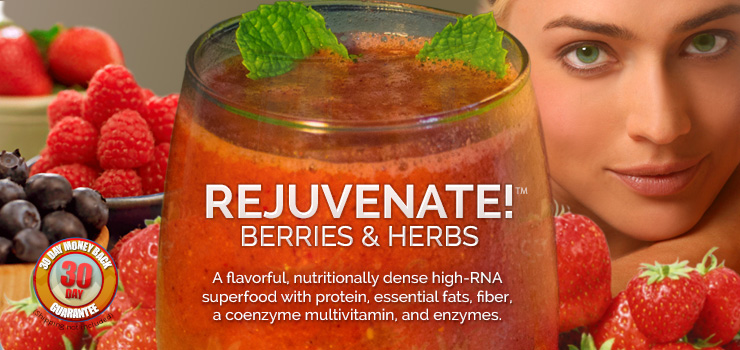 rejuvenate berries herbs