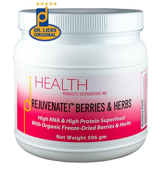 Rejuvenate! Berries & Herbs