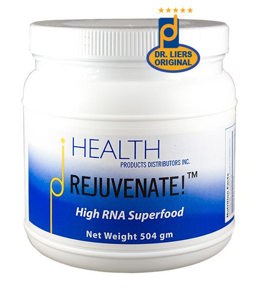 rejuvenate original greens high-RNA superfood dietary nucleic acids hank liers PhD
