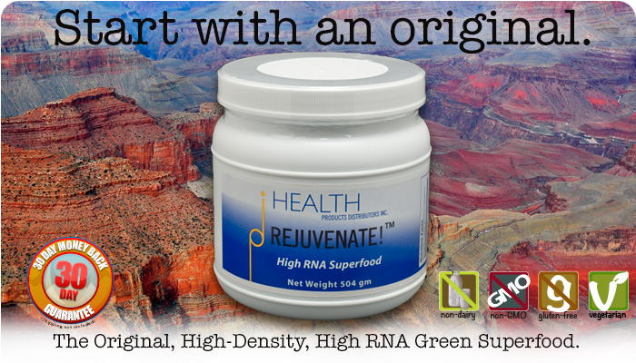 rejuvenate! lemonade superfood high-RNA original greens