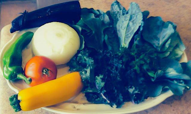 Hank's Ingredients kitchen organic vegetables