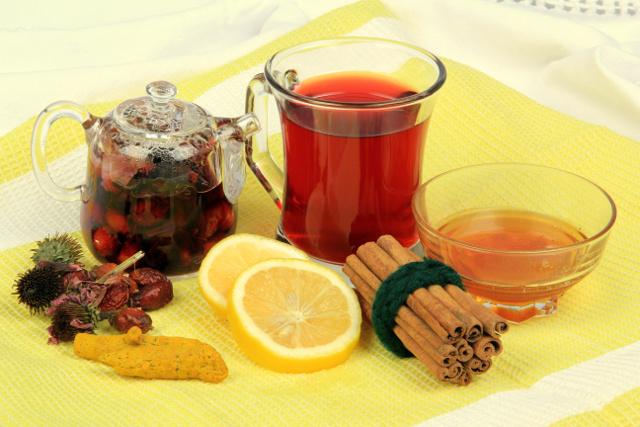 Winter Health Tea viruses flu colds