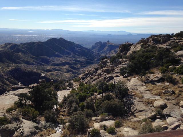 Windy Point Mount Lemmon Tucson Arizona bike training