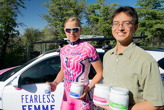Irena Ossola and Fred Liers juice cleanse