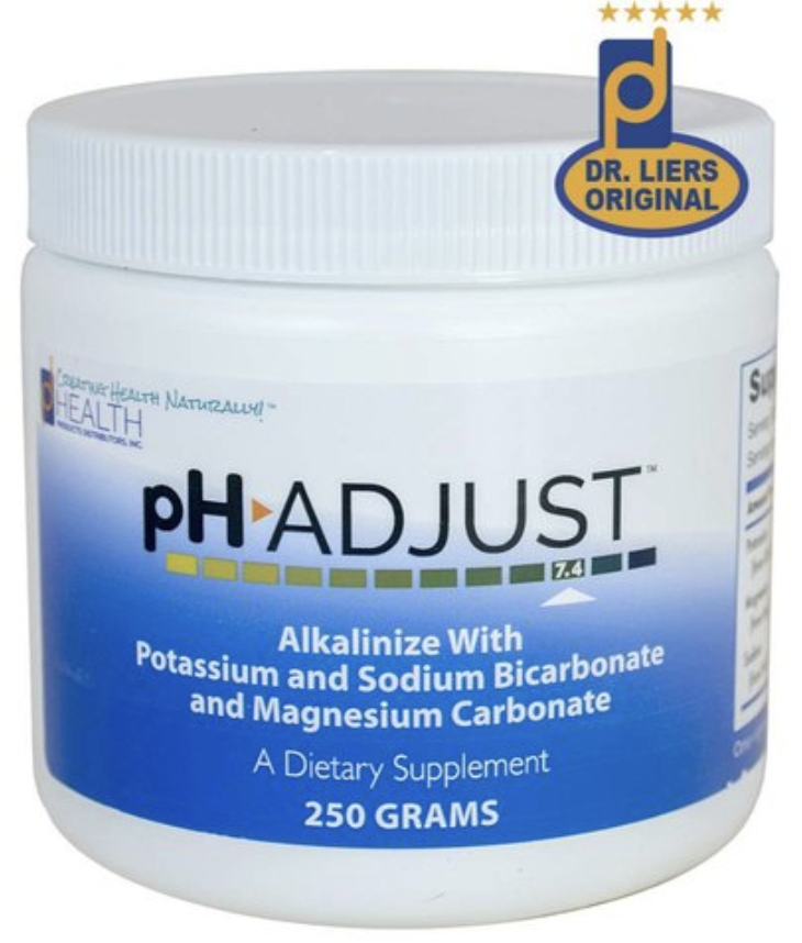 ph adjust alkalinizing formula