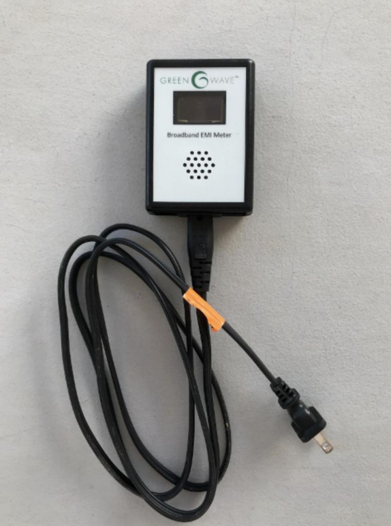 DE EMI meter helps reduce EMF exposure