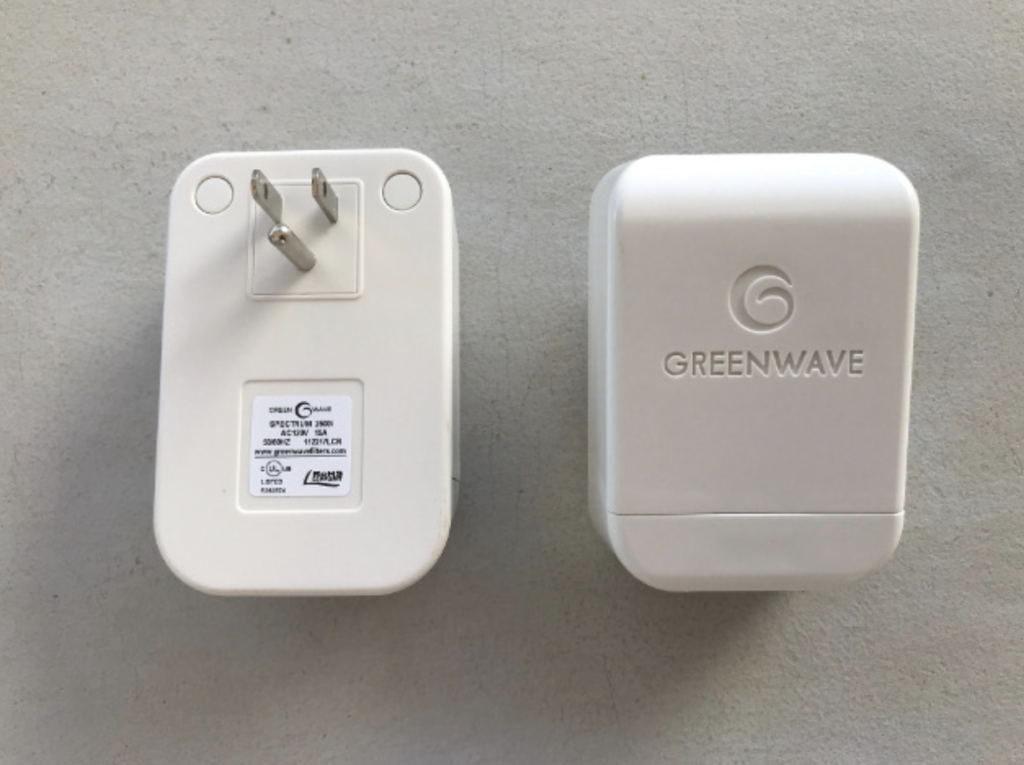 Greenwave dirty electricity filter reduces EMF exposure